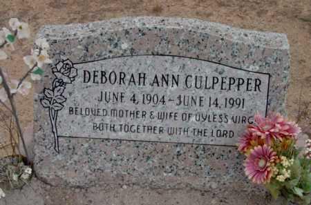 CULPEPPER, DEBORAH ANN - Yavapai County, Arizona | DEBORAH ANN CULPEPPER - Arizona Gravestone Photos
