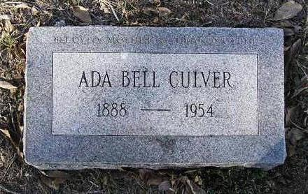 GUNTER CULVER, ADA BELL - Yavapai County, Arizona | ADA BELL GUNTER CULVER - Arizona Gravestone Photos