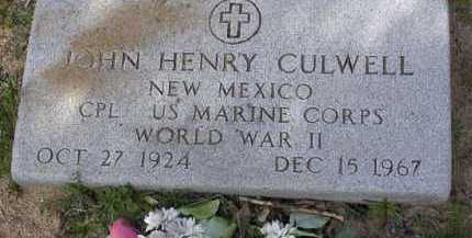 CULWELL, JOHN HENRY - Yavapai County, Arizona | JOHN HENRY CULWELL - Arizona Gravestone Photos