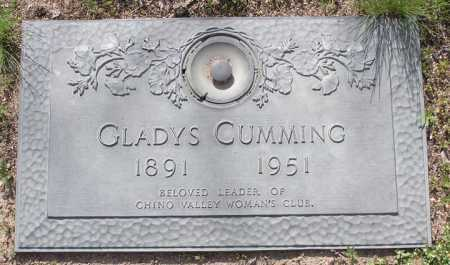 CUMMING, GLADYS - Yavapai County, Arizona | GLADYS CUMMING - Arizona Gravestone Photos