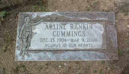 RANKIN CUMMINGS, ORA A. - Yavapai County, Arizona | ORA A. RANKIN CUMMINGS - Arizona Gravestone Photos