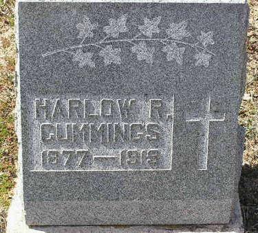 CUMMINGS, HARLOW REED - Yavapai County, Arizona | HARLOW REED CUMMINGS - Arizona Gravestone Photos