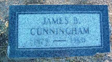 CUNNINGHAM, JAMES B. - Yavapai County, Arizona | JAMES B. CUNNINGHAM - Arizona Gravestone Photos