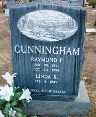 CUNNINGHAM, RAYMOND - Yavapai County, Arizona | RAYMOND CUNNINGHAM - Arizona Gravestone Photos