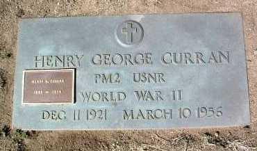 CURRAN, HENRY NOBLE - Yavapai County, Arizona | HENRY NOBLE CURRAN - Arizona Gravestone Photos