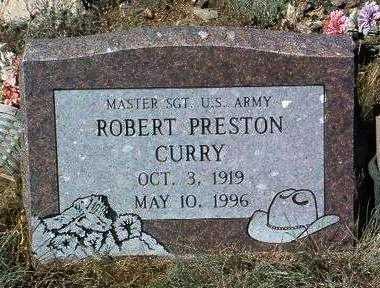 CURRY, ROBERT PRESTON - Yavapai County, Arizona | ROBERT PRESTON CURRY - Arizona Gravestone Photos