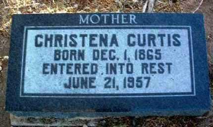CURTIS, CHRISTENA - Yavapai County, Arizona   CHRISTENA CURTIS - Arizona Gravestone Photos