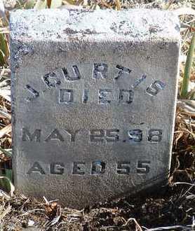 CURTIS, J. - Yavapai County, Arizona | J. CURTIS - Arizona Gravestone Photos