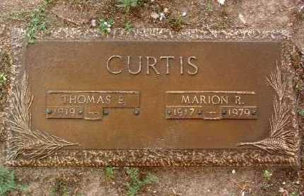 REED CURTIS, MARION R. - Yavapai County, Arizona | MARION R. REED CURTIS - Arizona Gravestone Photos