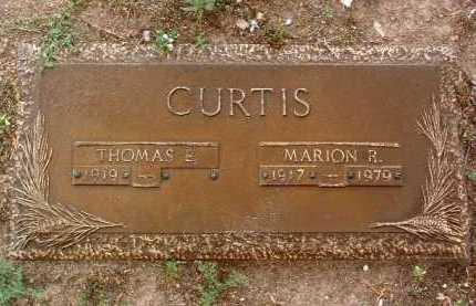 CURTIS, MARION R. - Yavapai County, Arizona | MARION R. CURTIS - Arizona Gravestone Photos