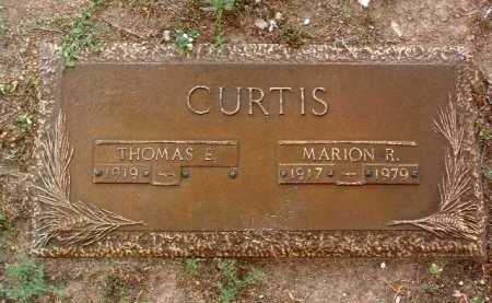 CURTIS, THOMAS E. - Yavapai County, Arizona | THOMAS E. CURTIS - Arizona Gravestone Photos