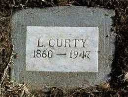 CURTY, LEONIDAS - Yavapai County, Arizona | LEONIDAS CURTY - Arizona Gravestone Photos