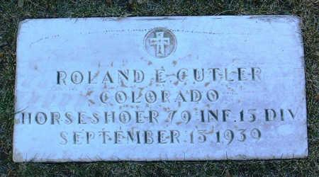 CUTLER, ROLAND  E. - Yavapai County, Arizona | ROLAND  E. CUTLER - Arizona Gravestone Photos