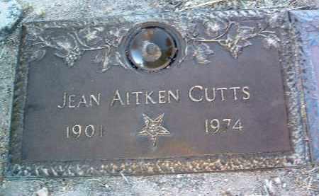 AITKEN CUTTS, JEAN - Yavapai County, Arizona   JEAN AITKEN CUTTS - Arizona Gravestone Photos