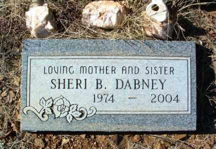 DABNEY, SHERI B. - Yavapai County, Arizona   SHERI B. DABNEY - Arizona Gravestone Photos