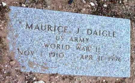 DAIGLE, MAURICE J. - Yavapai County, Arizona | MAURICE J. DAIGLE - Arizona Gravestone Photos