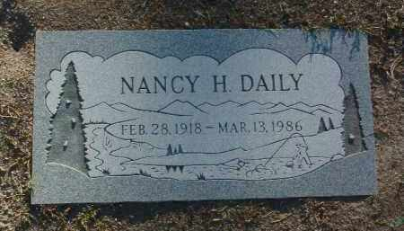 DAILY, NANCY J. - Yavapai County, Arizona | NANCY J. DAILY - Arizona Gravestone Photos