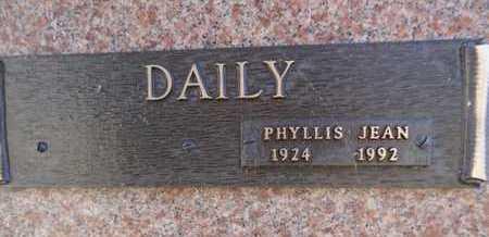 DAILY, PHYLLIS JEAN - Yavapai County, Arizona | PHYLLIS JEAN DAILY - Arizona Gravestone Photos