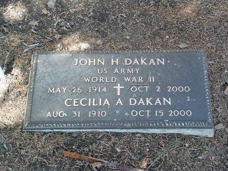 DAKAN, CECELIA A. - Yavapai County, Arizona | CECELIA A. DAKAN - Arizona Gravestone Photos