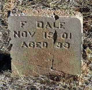 DALE, FRANKLIN (FRANKIE) - Yavapai County, Arizona | FRANKLIN (FRANKIE) DALE - Arizona Gravestone Photos