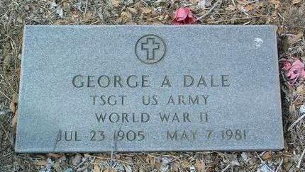 DALE, GEORGE A. - Yavapai County, Arizona | GEORGE A. DALE - Arizona Gravestone Photos