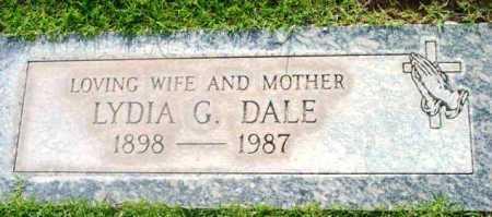 DALE, LYDIA G. - Yavapai County, Arizona | LYDIA G. DALE - Arizona Gravestone Photos