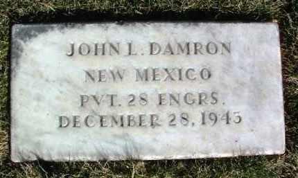 DAMRON, JOHN L. - Yavapai County, Arizona | JOHN L. DAMRON - Arizona Gravestone Photos