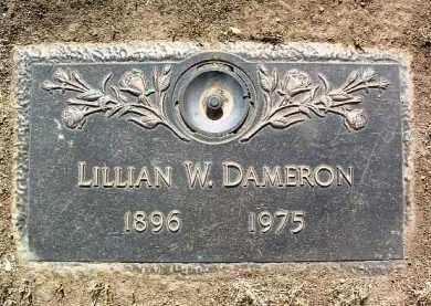 DAMERON, LILLIAN W. - Yavapai County, Arizona | LILLIAN W. DAMERON - Arizona Gravestone Photos