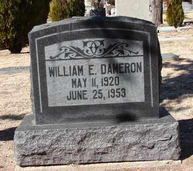 DAMERON, WILLIAM E. - Yavapai County, Arizona | WILLIAM E. DAMERON - Arizona Gravestone Photos
