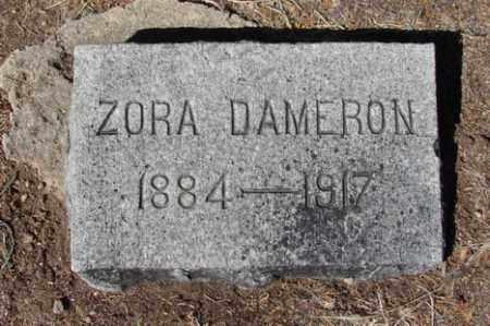 DAMERON, ZORA - Yavapai County, Arizona | ZORA DAMERON - Arizona Gravestone Photos