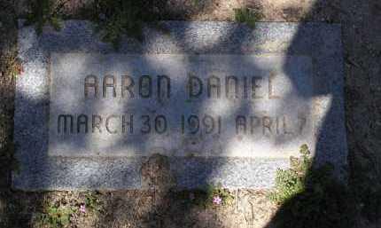 DANIELS, AARON - Yavapai County, Arizona | AARON DANIELS - Arizona Gravestone Photos