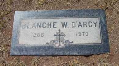 WALL D'ARCY, BLANCHE C - Yavapai County, Arizona | BLANCHE C WALL D'ARCY - Arizona Gravestone Photos