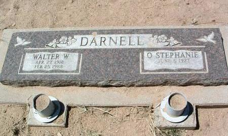 DARNELL, WALTER W. - Yavapai County, Arizona | WALTER W. DARNELL - Arizona Gravestone Photos