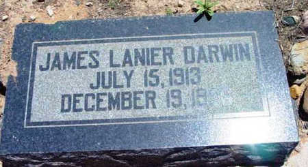 DARWIN, JAMES LANIER - Yavapai County, Arizona | JAMES LANIER DARWIN - Arizona Gravestone Photos