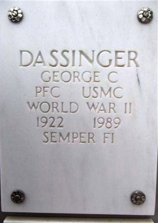 DASSINGER, GEORGE C. - Yavapai County, Arizona | GEORGE C. DASSINGER - Arizona Gravestone Photos