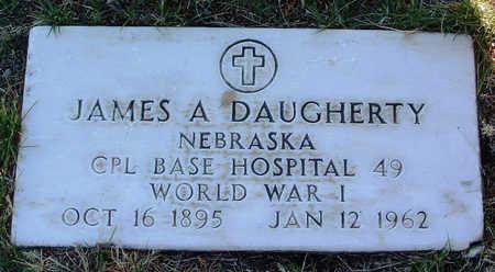 DAUGHERTY, JAMES ALBERT - Yavapai County, Arizona | JAMES ALBERT DAUGHERTY - Arizona Gravestone Photos