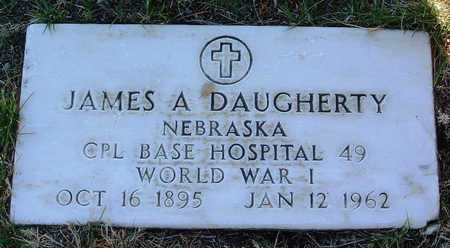 DAUGHERTY, JAMES ALBERT - Yavapai County, Arizona   JAMES ALBERT DAUGHERTY - Arizona Gravestone Photos
