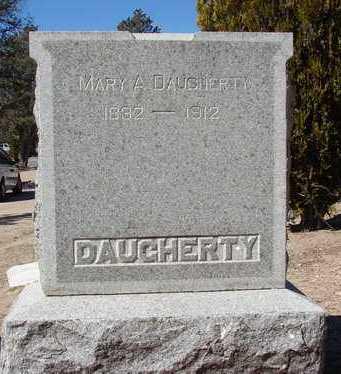 DAUGHERTY, MARY ANN - Yavapai County, Arizona | MARY ANN DAUGHERTY - Arizona Gravestone Photos