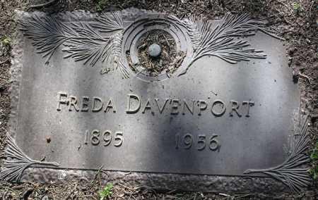 BAUER DAVENPORT, FREDA - Yavapai County, Arizona | FREDA BAUER DAVENPORT - Arizona Gravestone Photos