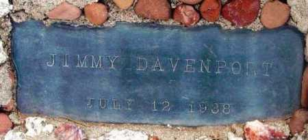 DAVENPORT, JIMMY - Yavapai County, Arizona | JIMMY DAVENPORT - Arizona Gravestone Photos