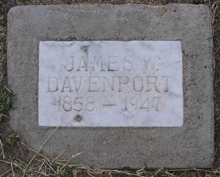DAVENPORT, JAMES W. - Yavapai County, Arizona | JAMES W. DAVENPORT - Arizona Gravestone Photos