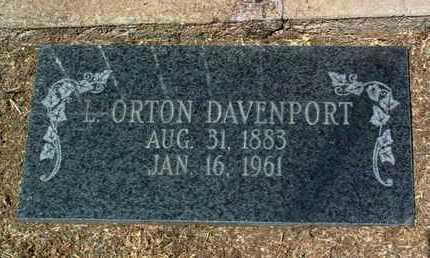DAVENPORT, LEVI ORTON - Yavapai County, Arizona | LEVI ORTON DAVENPORT - Arizona Gravestone Photos