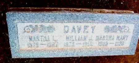DAVEY, MARTHA MARY - Yavapai County, Arizona | MARTHA MARY DAVEY - Arizona Gravestone Photos