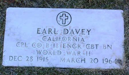 DAVEY, EARL - Yavapai County, Arizona   EARL DAVEY - Arizona Gravestone Photos