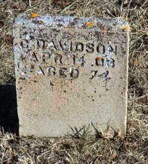 DAVIDSON, CHARLES - Yavapai County, Arizona | CHARLES DAVIDSON - Arizona Gravestone Photos