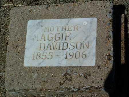 DAVIDSON, MAGGIE - Yavapai County, Arizona | MAGGIE DAVIDSON - Arizona Gravestone Photos