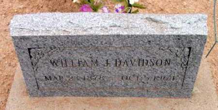 DAVIDSON, WILLIAM JACKSON - Yavapai County, Arizona | WILLIAM JACKSON DAVIDSON - Arizona Gravestone Photos