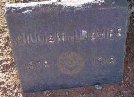 DAVIES, WILLIAM JOHN - Yavapai County, Arizona   WILLIAM JOHN DAVIES - Arizona Gravestone Photos