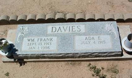 DAYTON DAVIES, ADA E. - Yavapai County, Arizona | ADA E. DAYTON DAVIES - Arizona Gravestone Photos