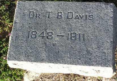 DAVIS, THOMAS BENTON - Yavapai County, Arizona | THOMAS BENTON DAVIS - Arizona Gravestone Photos